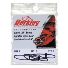 Berkley McMahon Cross Lock Snaps
