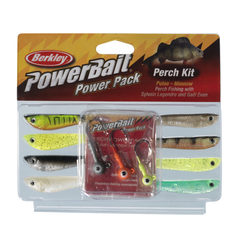 Berkley Powerbait Perch Minnow and Pulse Pro Pack