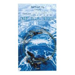 Deep Blue Surfcast Rig 2-Haaks