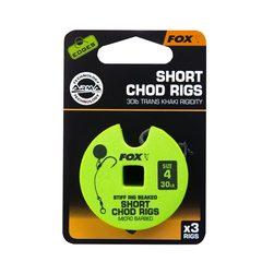 Fox Edge Short stiff Chod Rig