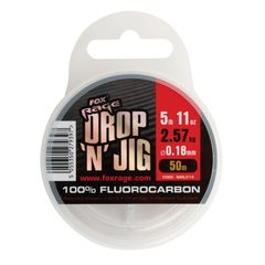 Fox Rage Drop and Jig Fluorocarbon