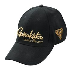 Gamakatsu Cap G-Triangle Black-Gold