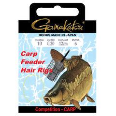Gamakatsu BKS-3323F Carp Feeder Hair Rigs 40cm