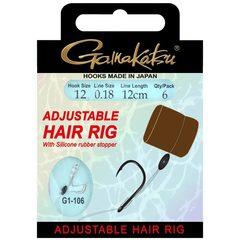 Gamakatsu G1-106 Verstelbare Hair Rig