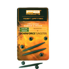 PB Products Downforce Tungsten Heli-Chod Rubber and Beads