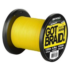 Spro Got Braid Yellow