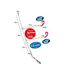 Spro Premium Ostsee Pilk Twister Rig