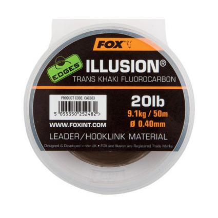 Fox Edges Illusion Trans Khaki 0.40mm