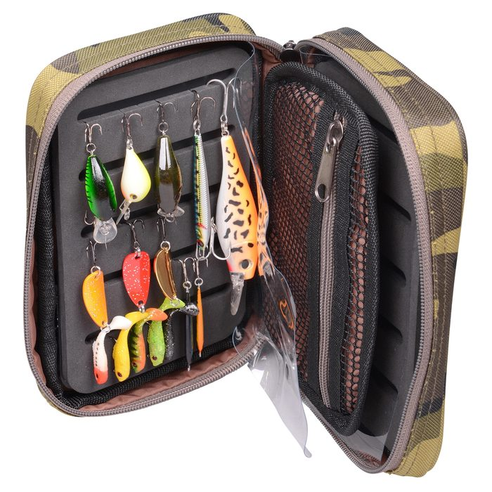 Spro Camouflage Lure Pouch L