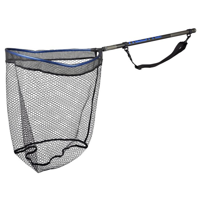 Spro Freestyle Rubber Net Blue 50x40x50