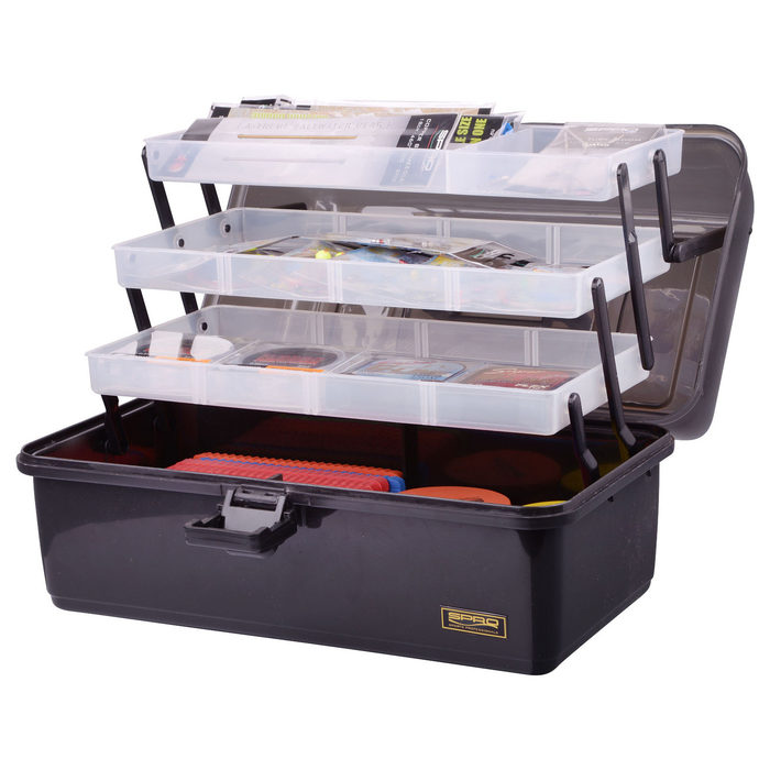 Spro Tacklebox 3-Tray XL 370x220x200mm