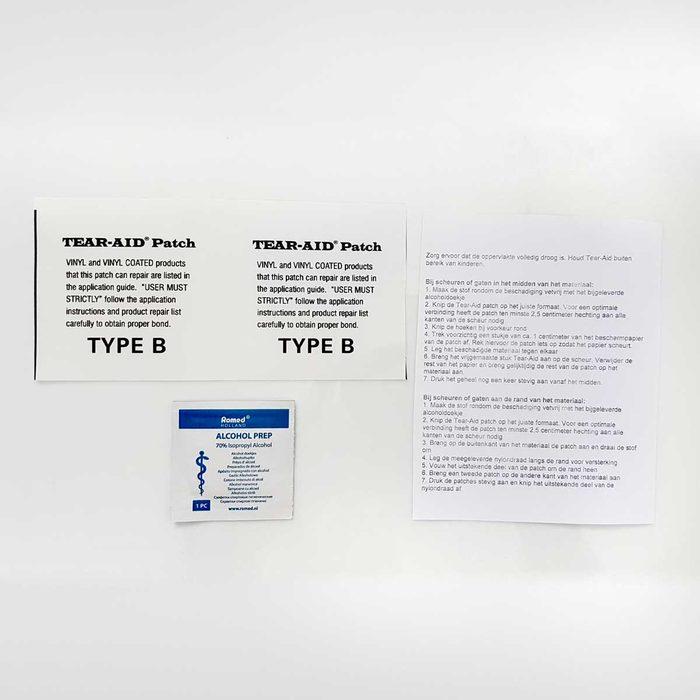 Tear Aid Reparatieset Type B
